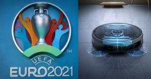Cùng xem và cổ vũ Euro 2021 việc dọn dẹp đã có robot hút bụi lau nhà làm !