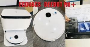 Đánh giá Ecovacs Deebot N9+ robot lau nhà, hút bụi, tự giặt giẻ lau đáng mua nhất hiện nay