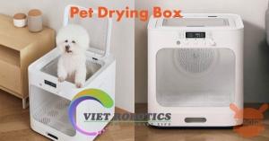 Xiaomi bán Pet Drying Box máy sấy làm ấm thú cưng với giá chỉ hơn 2,5 triệu đồng